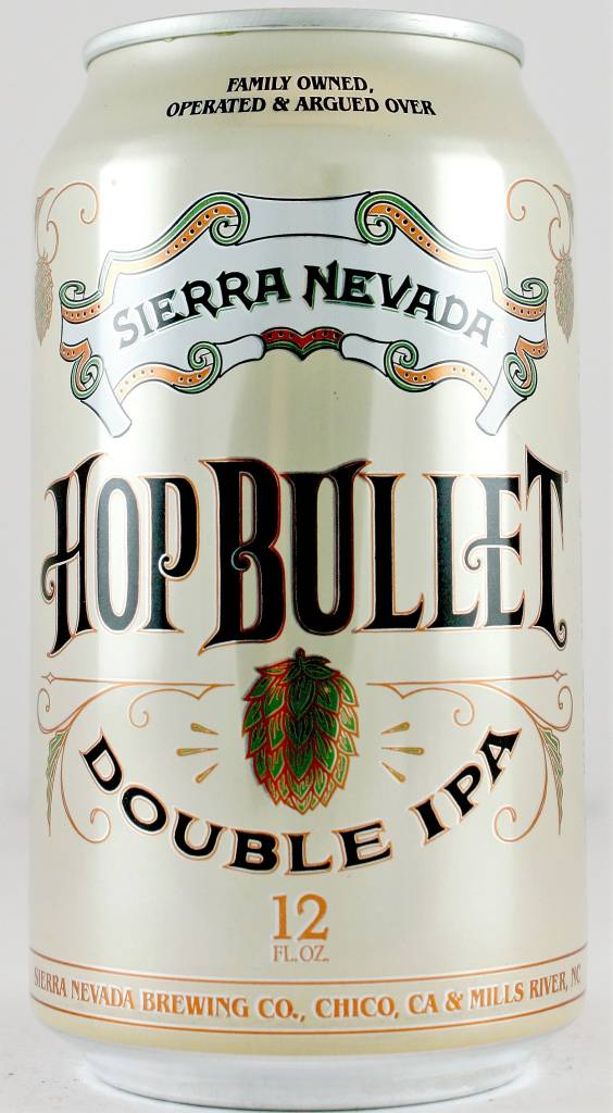 """Sierra Nevada """"Hop Bullet"""" Double India Pale Ale 12oz Can - Chico CA"""