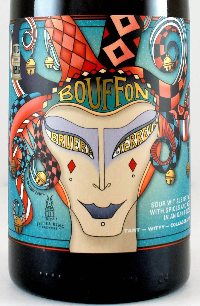 "Bruery Terreux ""Bouffon"" Sour Wit Ale Collaboration W/ Jester King 750ml Bottle - Orange CA"