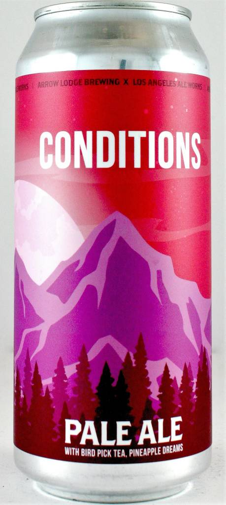 "Arrow Lodge ""Conditions"" Pale Ale 16oz Can - California"