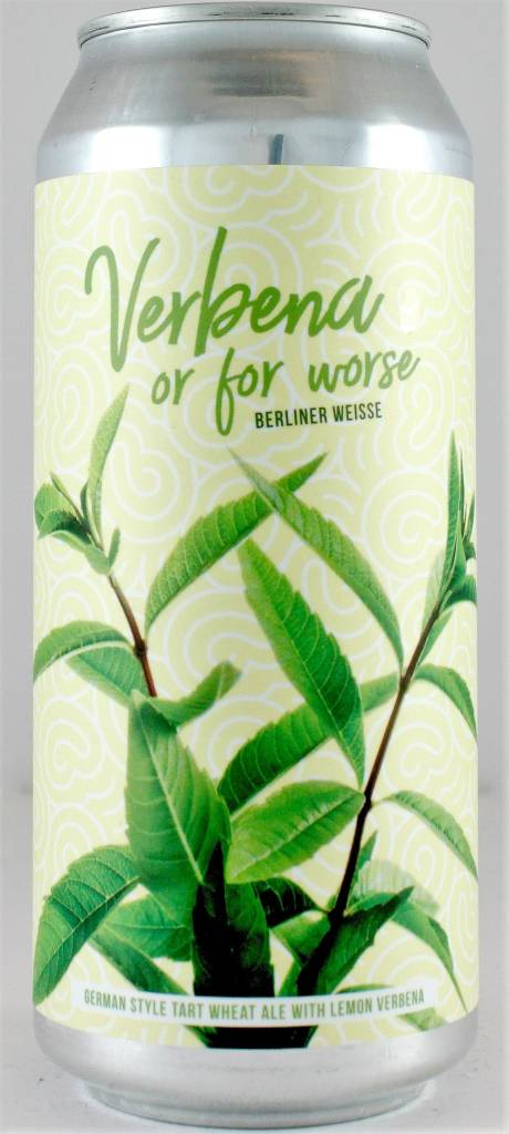 """Arrow Lodge """"Verbena or for Worse"""" Berliner Weisse 16oz Cans - California"""