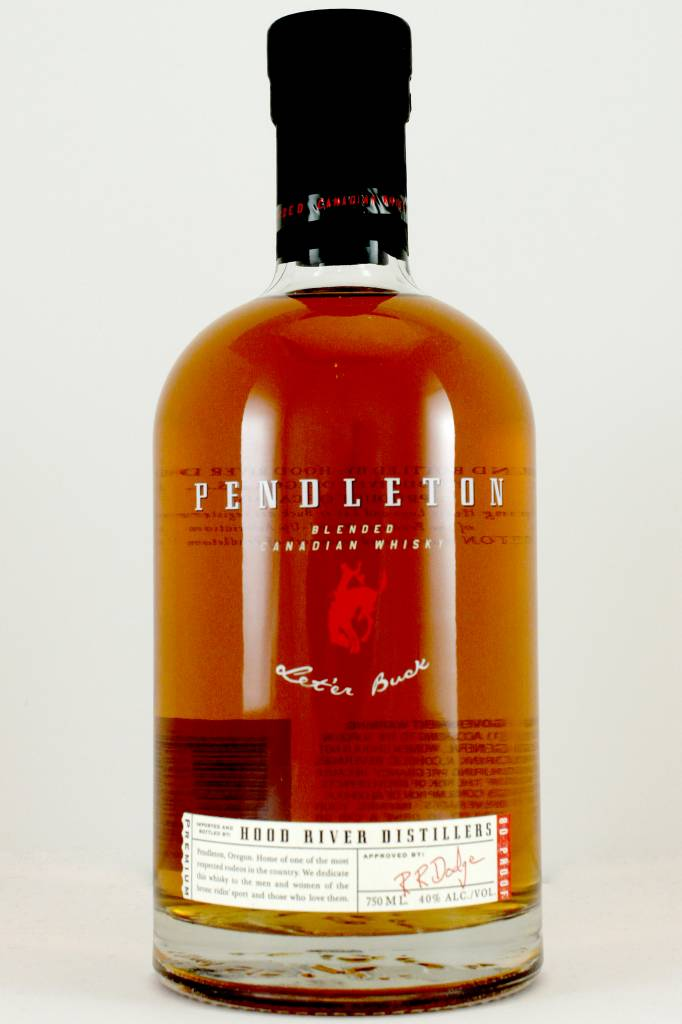 Pendleton Canadian Whisky, Hood River, Oregon