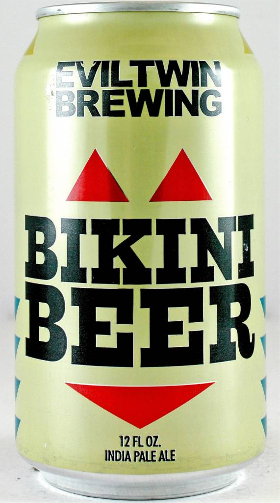 """Evil Twin Brewing """"Bikini Beer"""" Low-alcohol India Pale Ale 12oz Can - Stratford CT"""