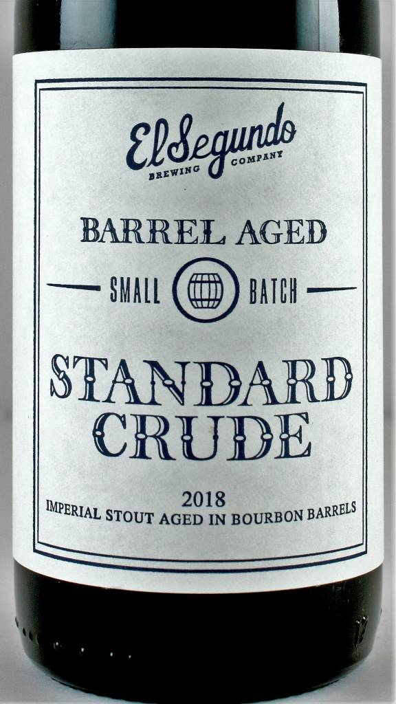 "El Segundo ""Standard Crude"" BBA Imperial Stout 375ml Bottle - El Segundo CA"