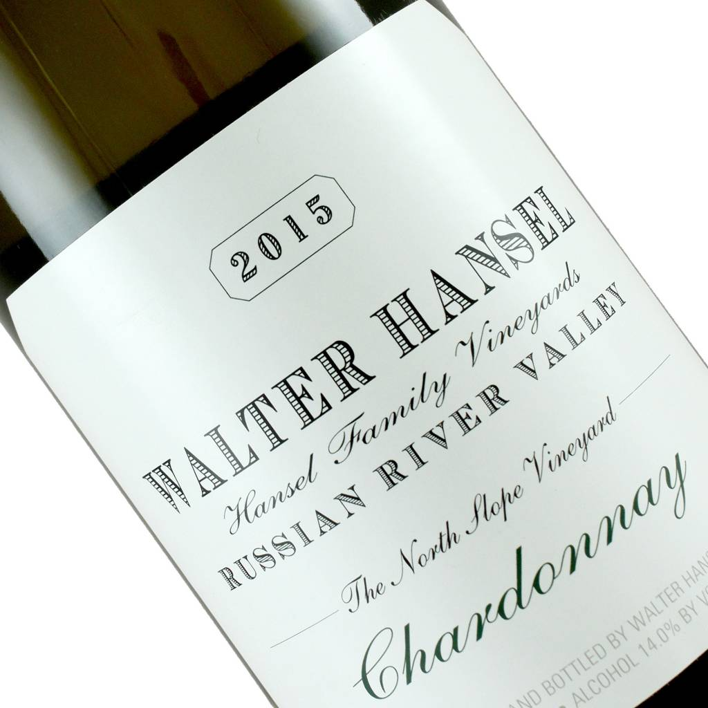 Walter Hansel 2015 Chardonnay The North Slope Russian River Valley