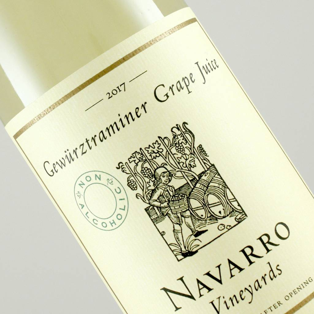 Navarro 2017 Gewurztraminer Grape Juice Non-Alcoholic