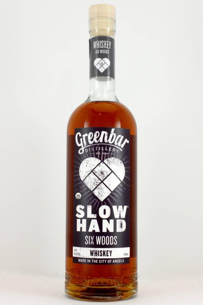 "Greenbar Distillery Slow Hand ""Six Woods"" Malt California Organic Whiskey"