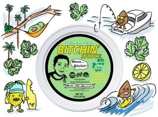 Bitchin' Sauce Cilantro Chili, Carlsbad, California