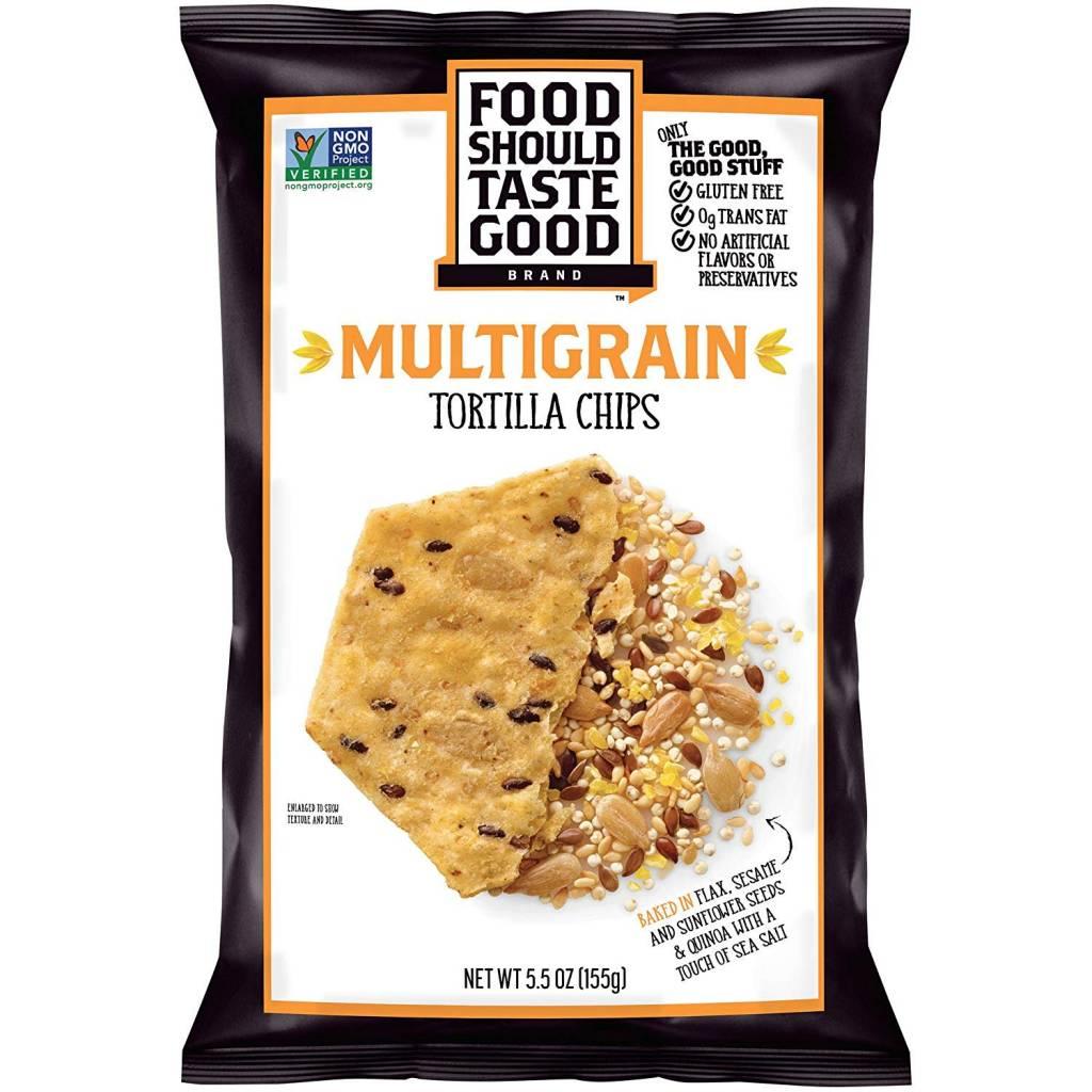 Food Should Taste Good Mulitgrain Tortilla Chips