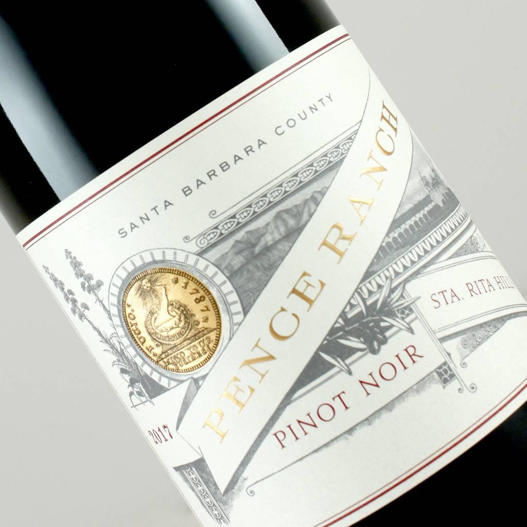 Pence Ranch 2017 Pinot Noir Sta. Rita Hills, Santa Barbara County