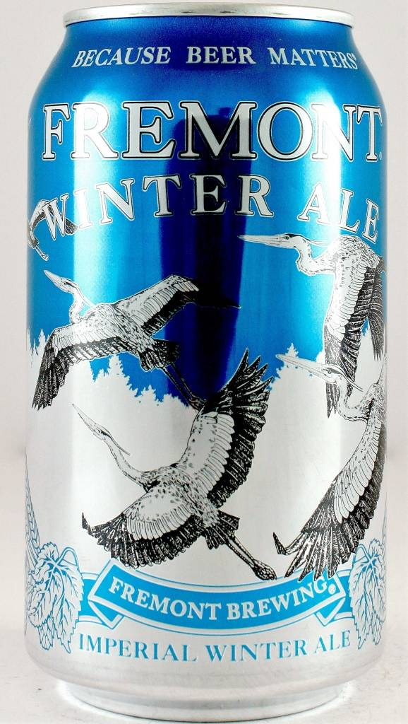 """Fremont Brewing Co """"Winter Ale"""" Imperial Winter Ale 12oz Can - Seattle WA"""
