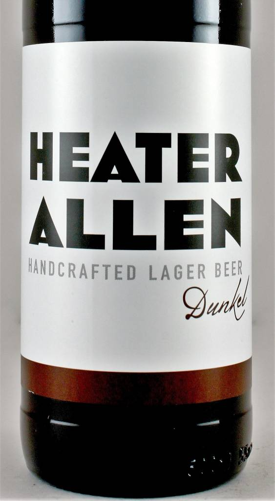 "Heater Allen ""Dunkel"" Lager 500ml Bottle - McMinville OR"