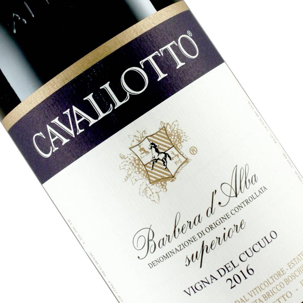 Cavallotto 2016 Barbera d'Alba Superiore Vigna del Cuculo, Piedmont