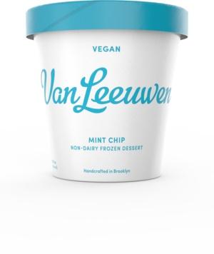 Van Leeuwen Mint Chip Vegan Non-Dairy Frozen Dessert Pint, Brooklyn, N.Y.