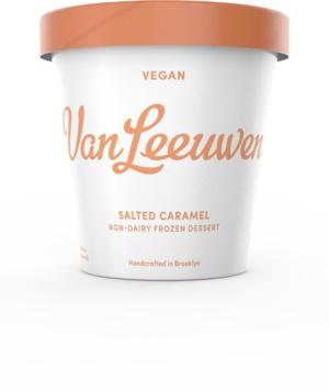 Van Leeuwen Salted Caramel Non-Dairy Frozen Dessert Pint, Brooklyn, N.Y.