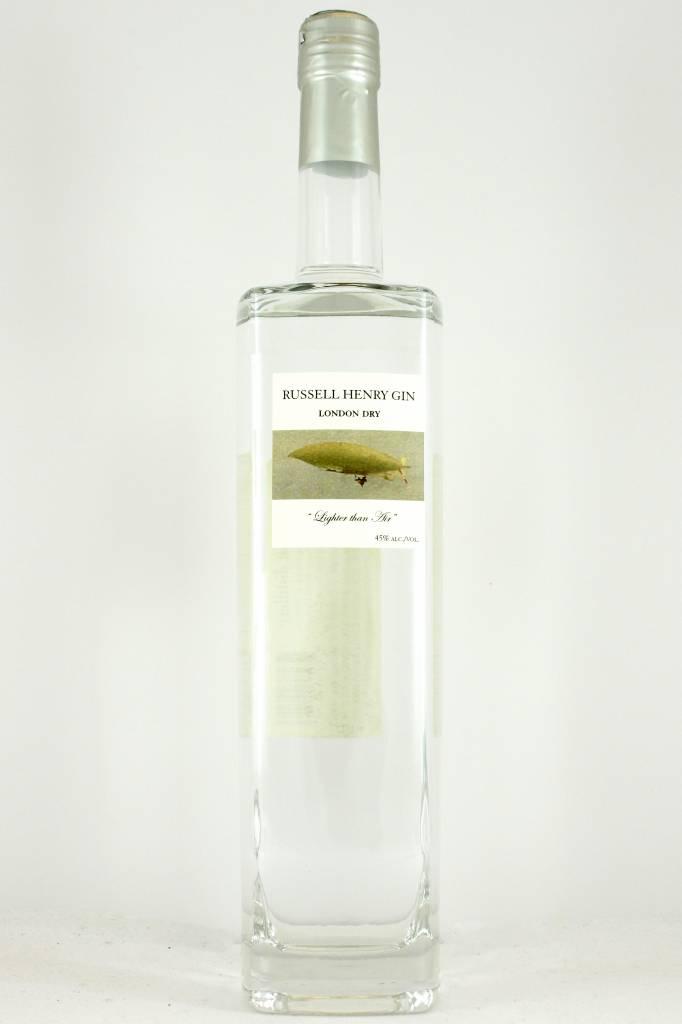 Russell Henry London Dry Gin, Ukiah, California