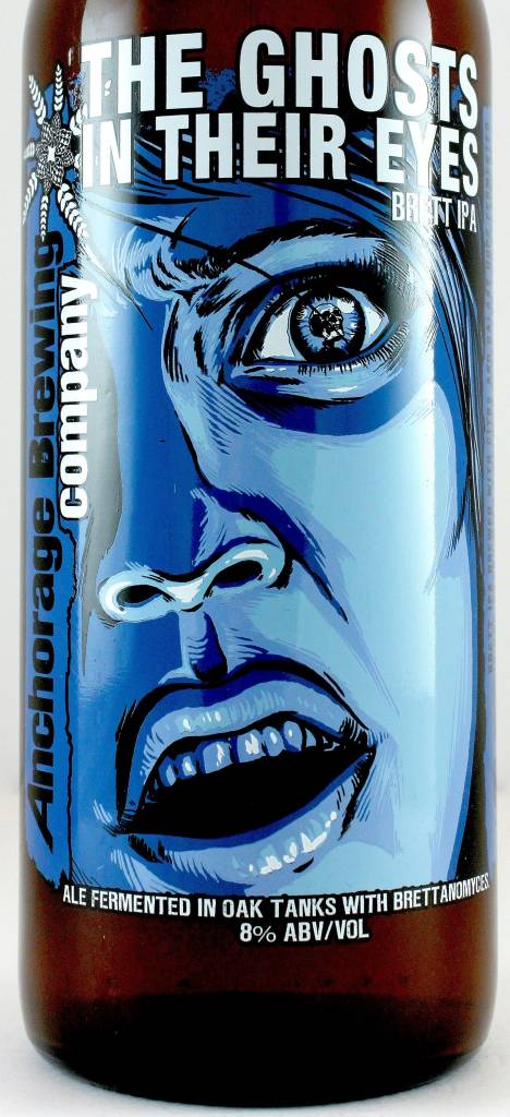 """Anchorage Brewing Co """"The Ghosts In Their Eyes"""" Brett India Pale Ale 750ml Bottle - Anchorage AK"""