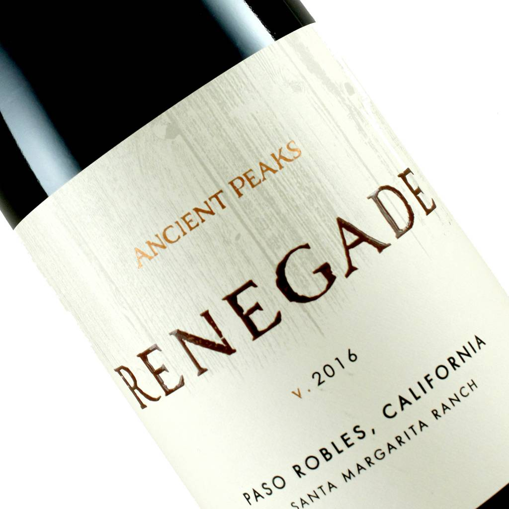 Ancient Peaks 2016 Renegade, Red Blend Paso Robles, California