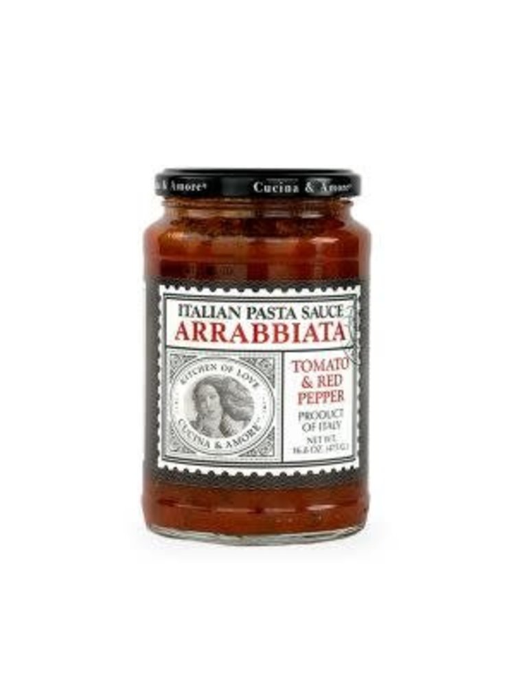 Cucina & Amore Arrabbiata Tomato & Red Pepper Pasta Sauce, San Francisco