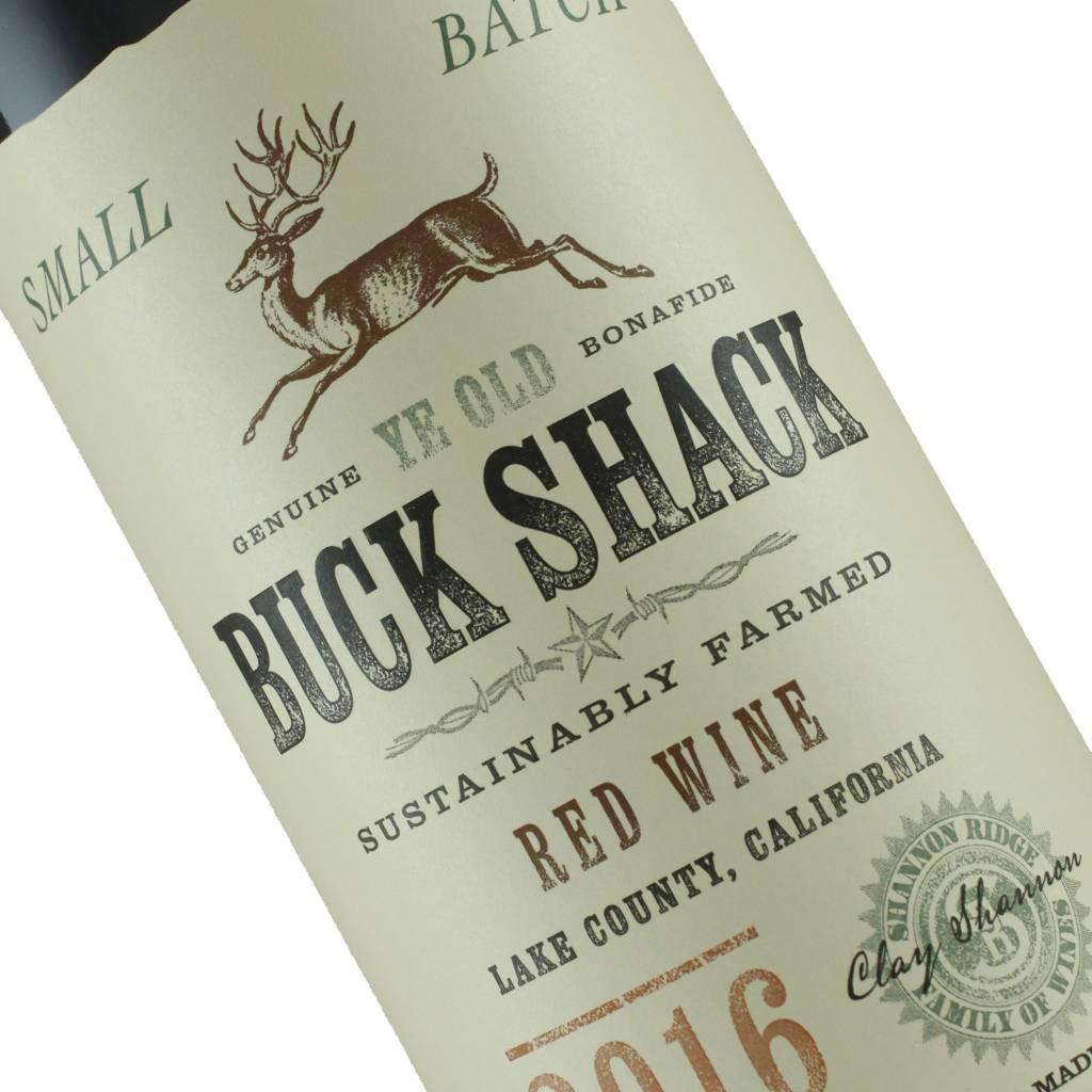 Buck Shack 2016 Red Wine, Lake County