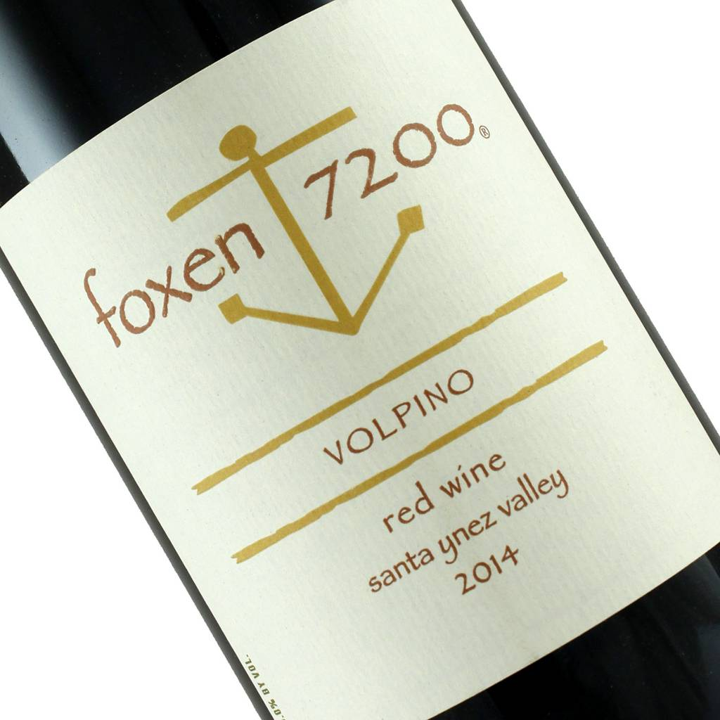 "Foxen 7200 2014 Red Wine ""Volpino"" Santa Ynez Valley"