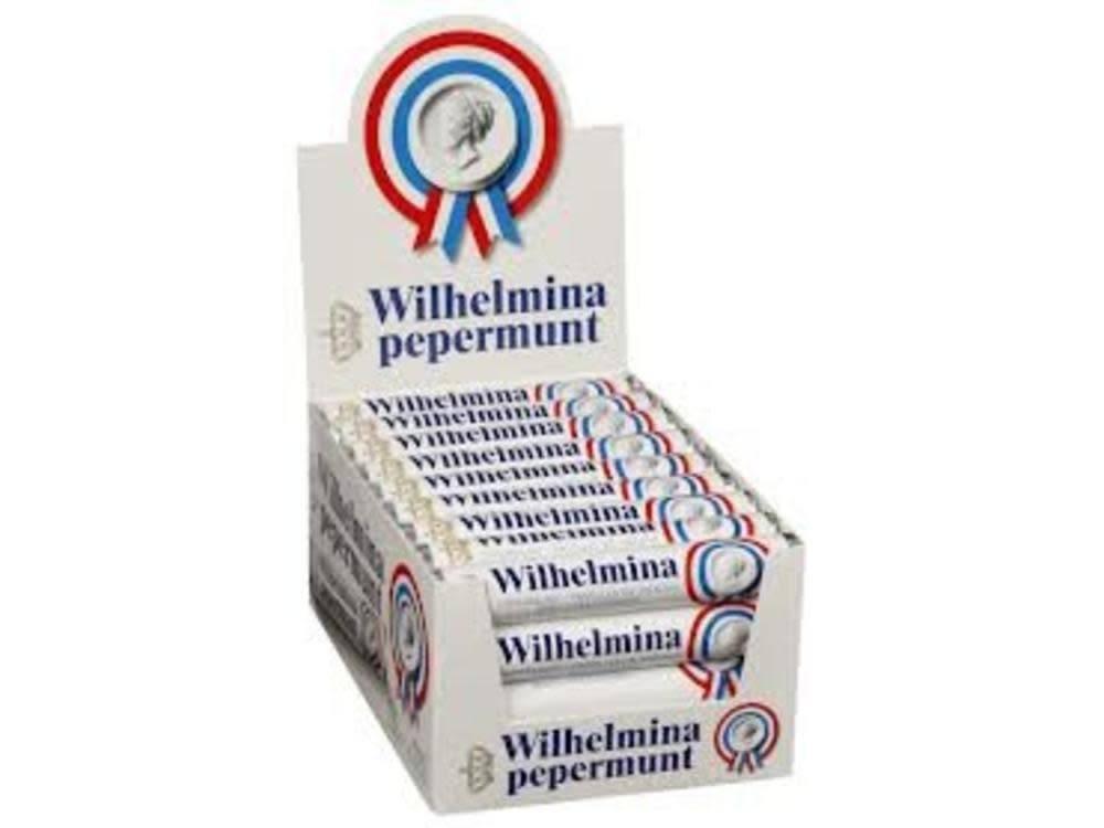 Wilhelmina Mints Roll, Netherlands