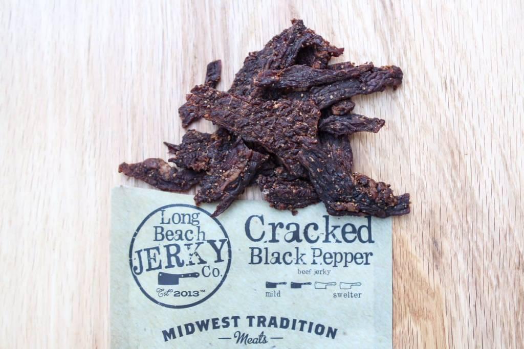 Long Beach Jerky Co. Cracked Black Pepper