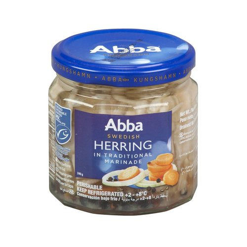 Abba Swedish Herring in Traditional Marinade 8 oz.