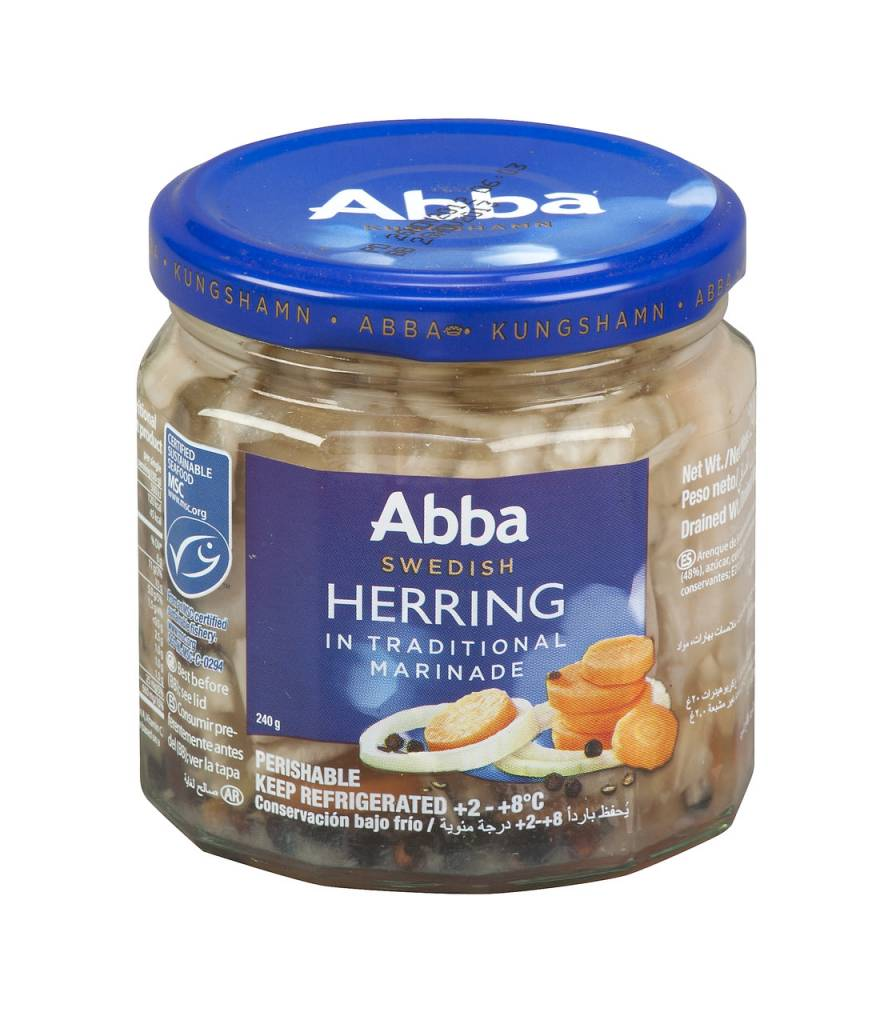 Abba Swedish Herring in Traditional Marinade 8 oz.