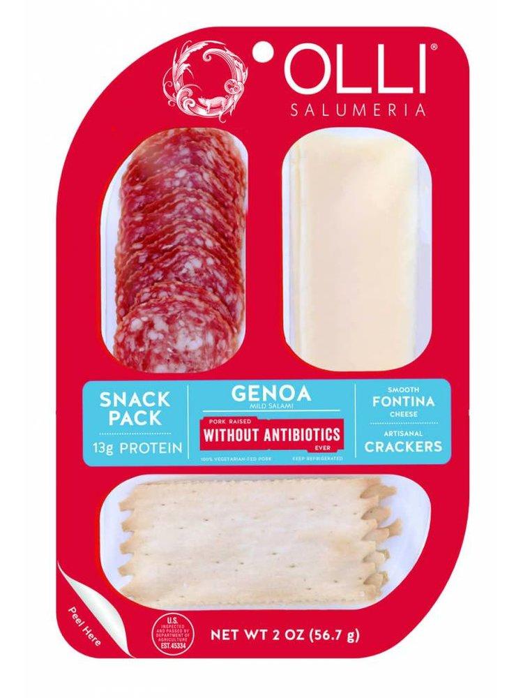 Olli Genoa Mild Salami Snack Pack, Oceanside, California