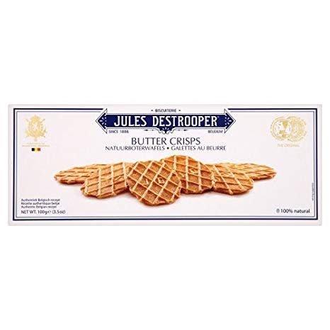 Jules Destrooper Butter Crisps, Belgium