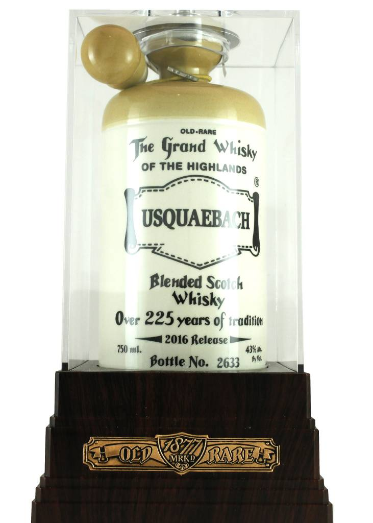 Usquaebach Old Rare Blended Scotch Whisky,  2016 Release