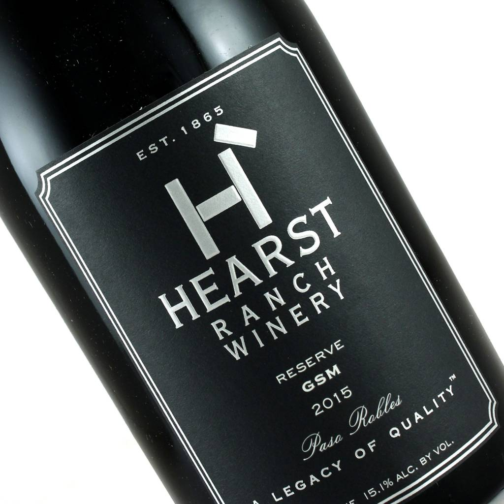 Hearst Ranch 2015 GSM Reserve. Paso Robles