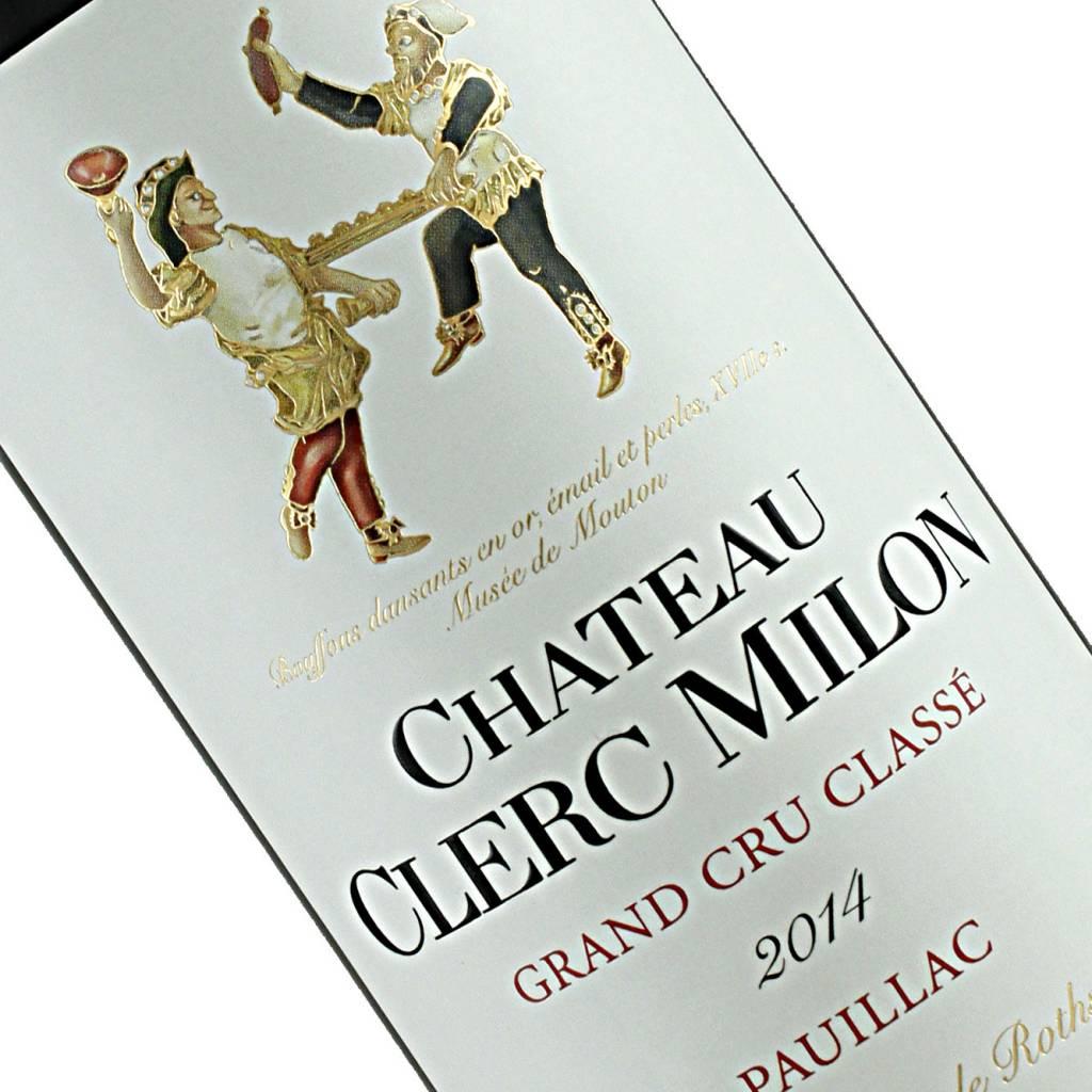 Chateau Clerc Milon 2014 Grand Cru Classe, Pauillac, 375 ml