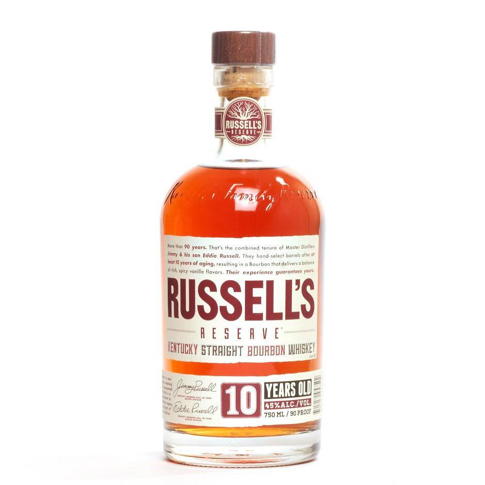 Russell's Reserve Kentucky Straight Bourbon Whiskey 10 Years Old