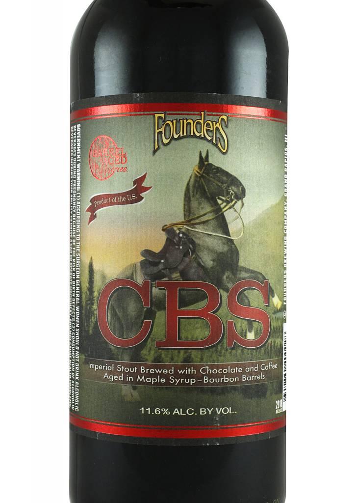 "Founders ""Canadian Breakfast Stout"" Barrel Aged Imperial Stout 750ml Bottle - Grand Rapids MI"