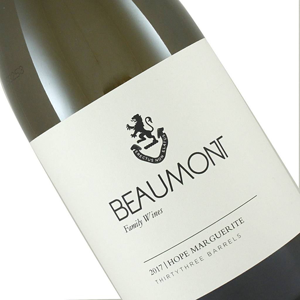 """Beaumont Family 2018 """"Hope Marguerite"""" Chenin Blanc, South Africa"""