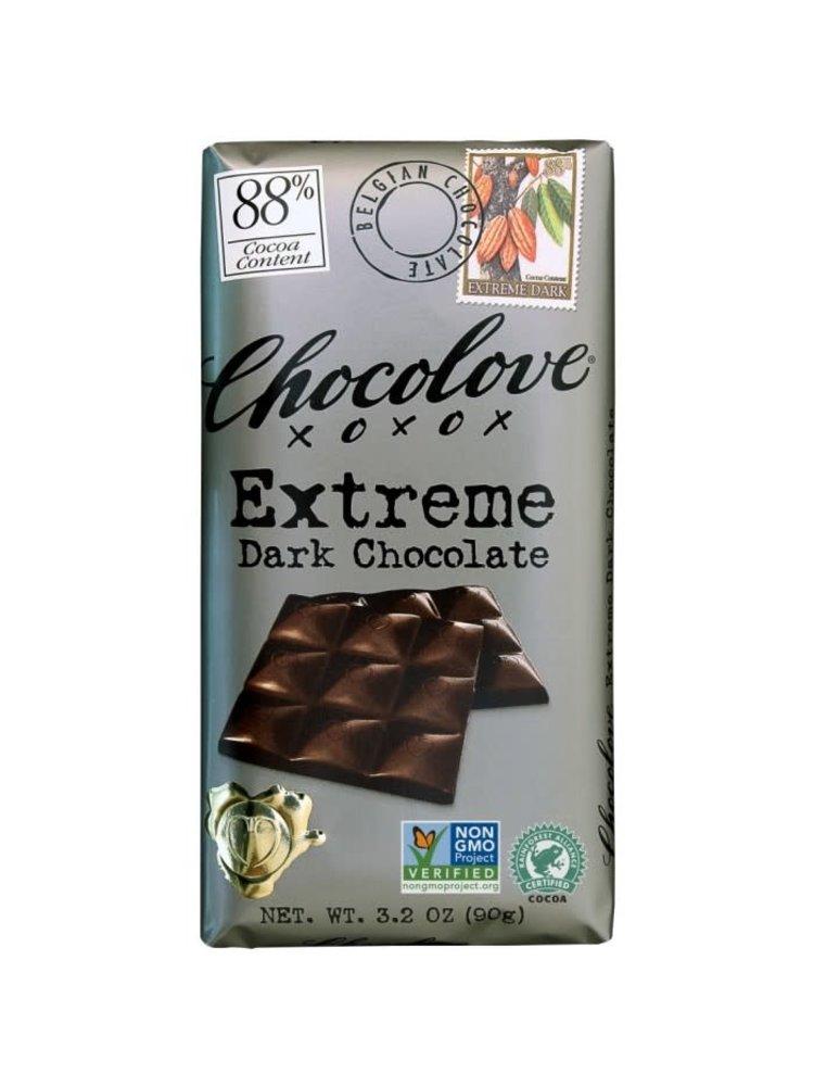 Chocolove 88% Extreme Dark Chocolate Bar, Boulder