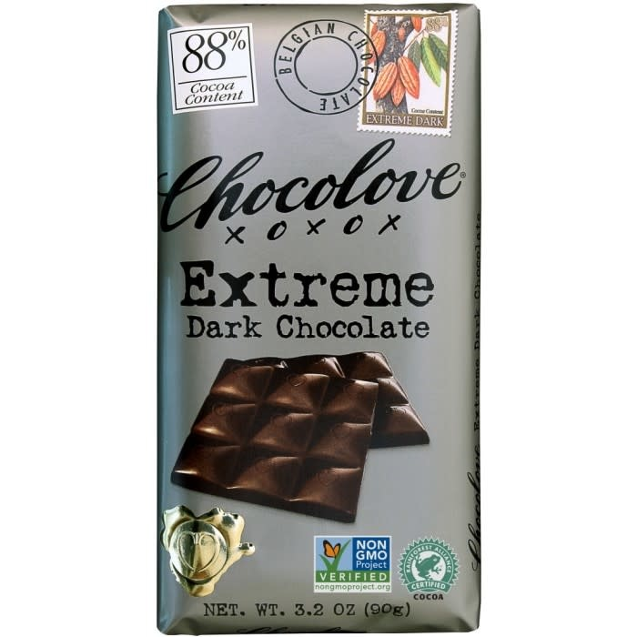 Chocolove 88% Extreme Dark Chocolate, Boulder