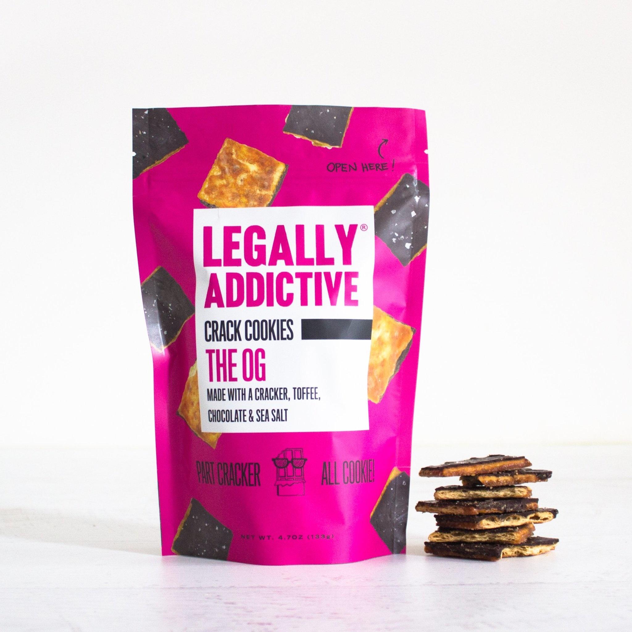 Legally Addictive Crack Cookies The OG