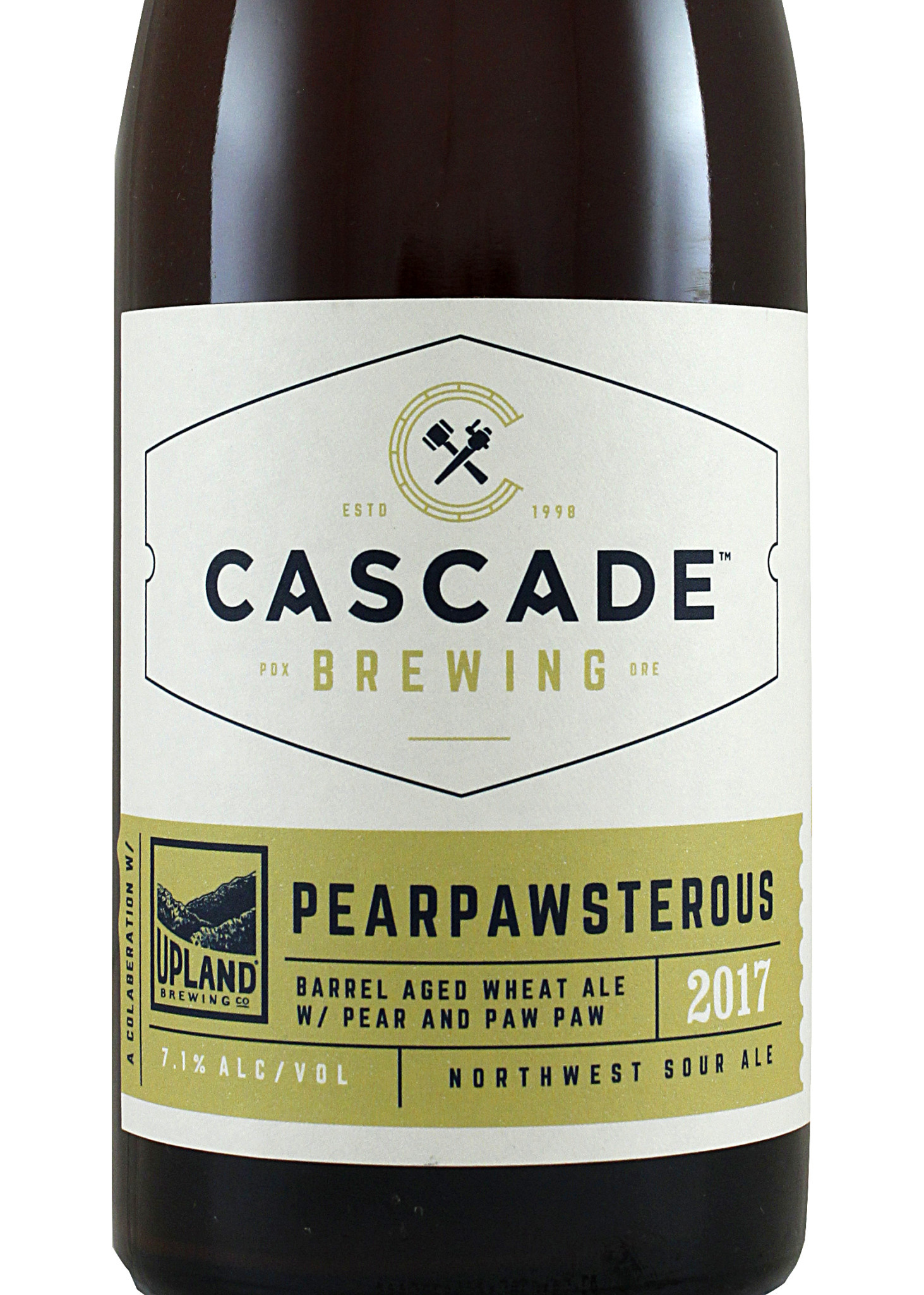 "Cascade Brewing ""Pearpawsterous"" Sour"