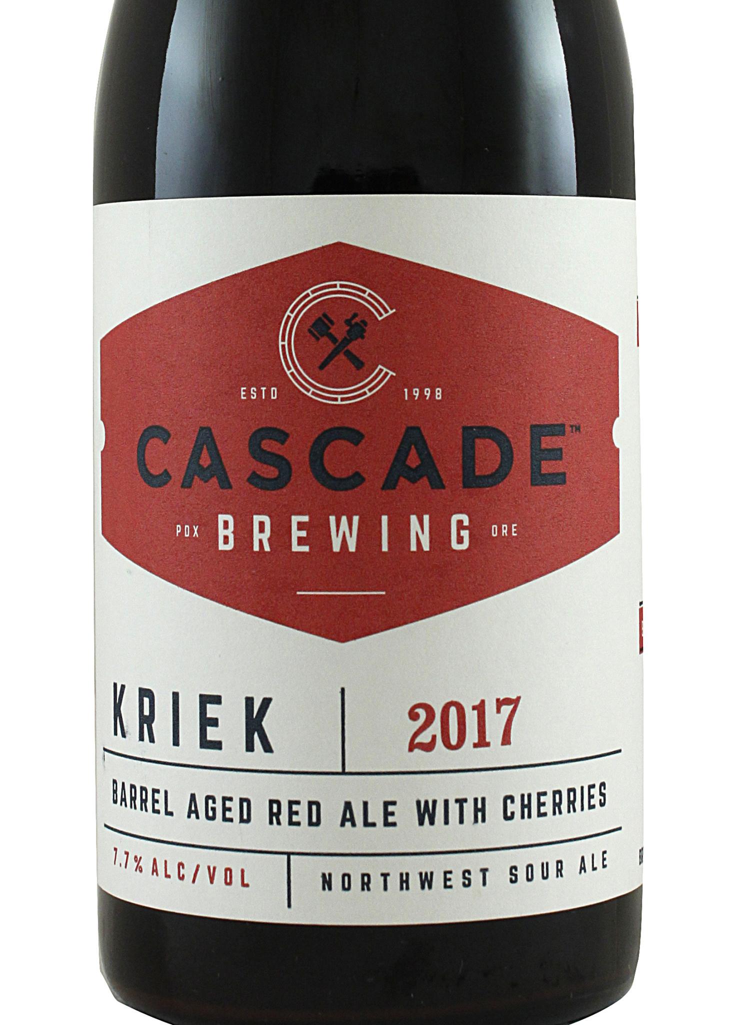 """Cascade Brewing """"Kriek 2017"""" Sour - 500ml"""