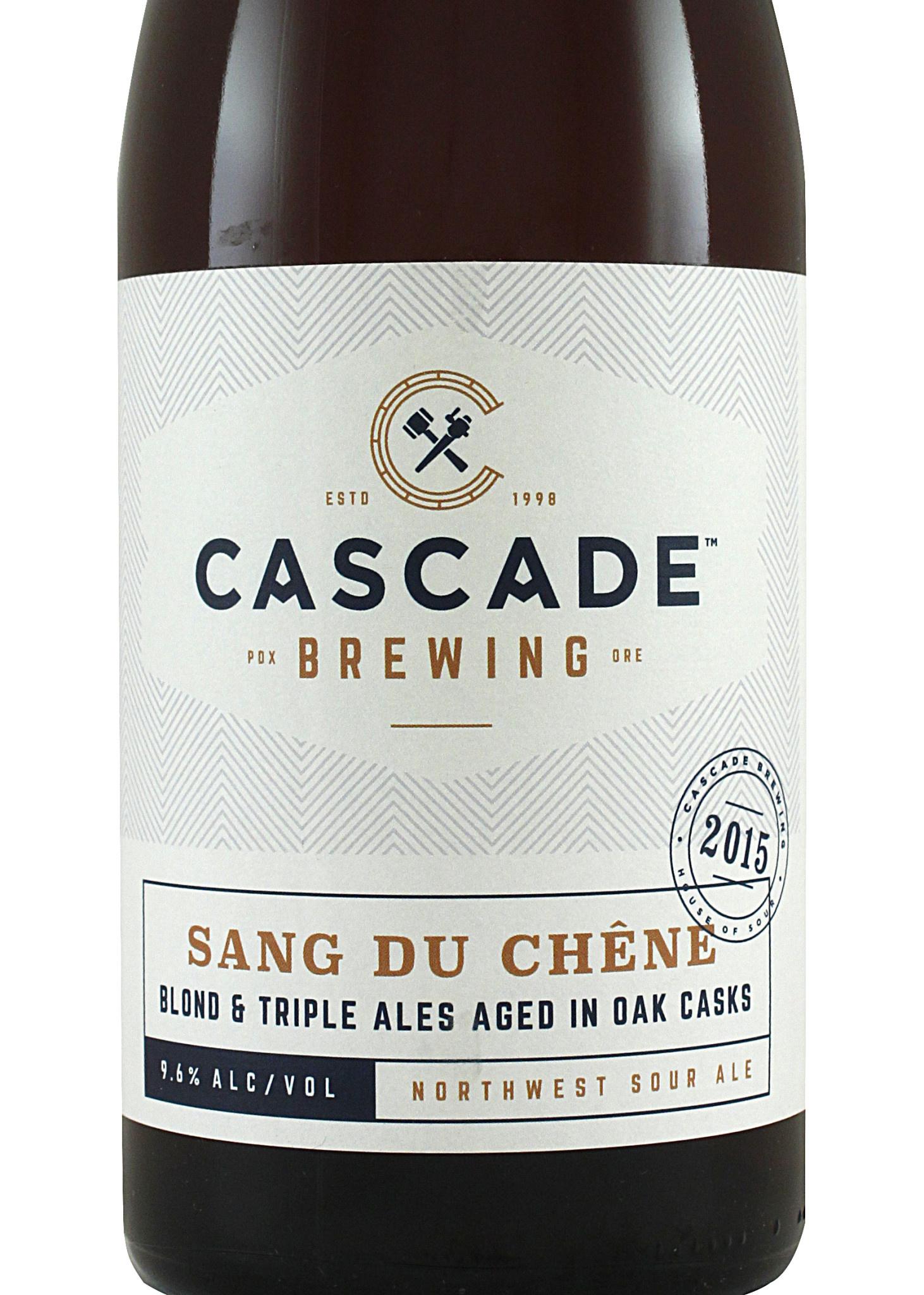 """Cascade Brewing """"Sang Du Chene"""" Sour Ale, Oregon"""