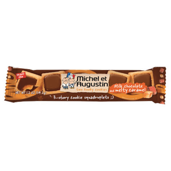 Michel et Augustin Milk Chocolate Caramel Cookies
