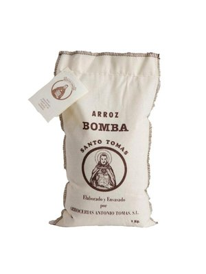 Arroz Bomba Santo Tomas Paella Rice .5 kg