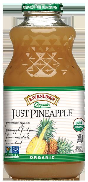 R.W. Knudsen Organic Just Pineapple Juice 32 oz.