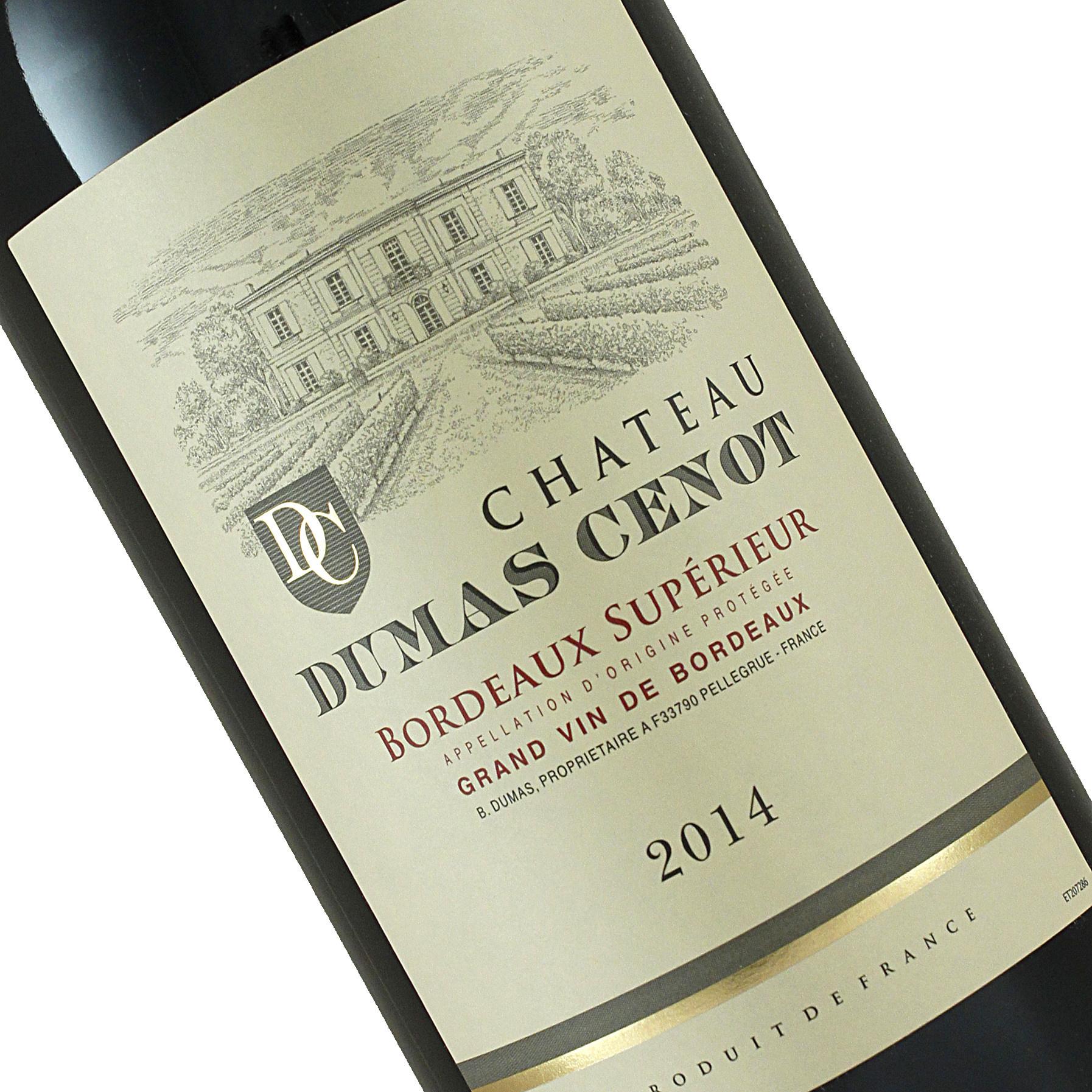 Chateau Dumas Cenot 2014 Protegee, Bordeaux Superieur
