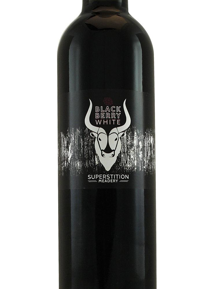 "Superstition Meadery "" Blue Berry White"" 500ml Bottle - Prescott AZ"