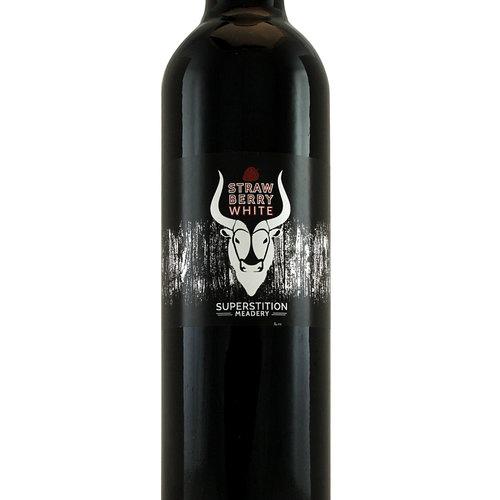 "Superstition Meadery ""Straw Berry White"" 500ml Bottle - Prescott AZ"