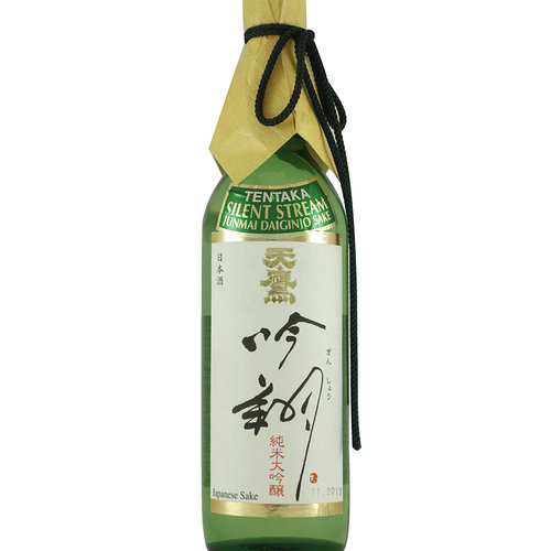"Tentaka ""Silent Stream"" Junmai Daiginjo Sake, Tochigi Prefecture, Japan"