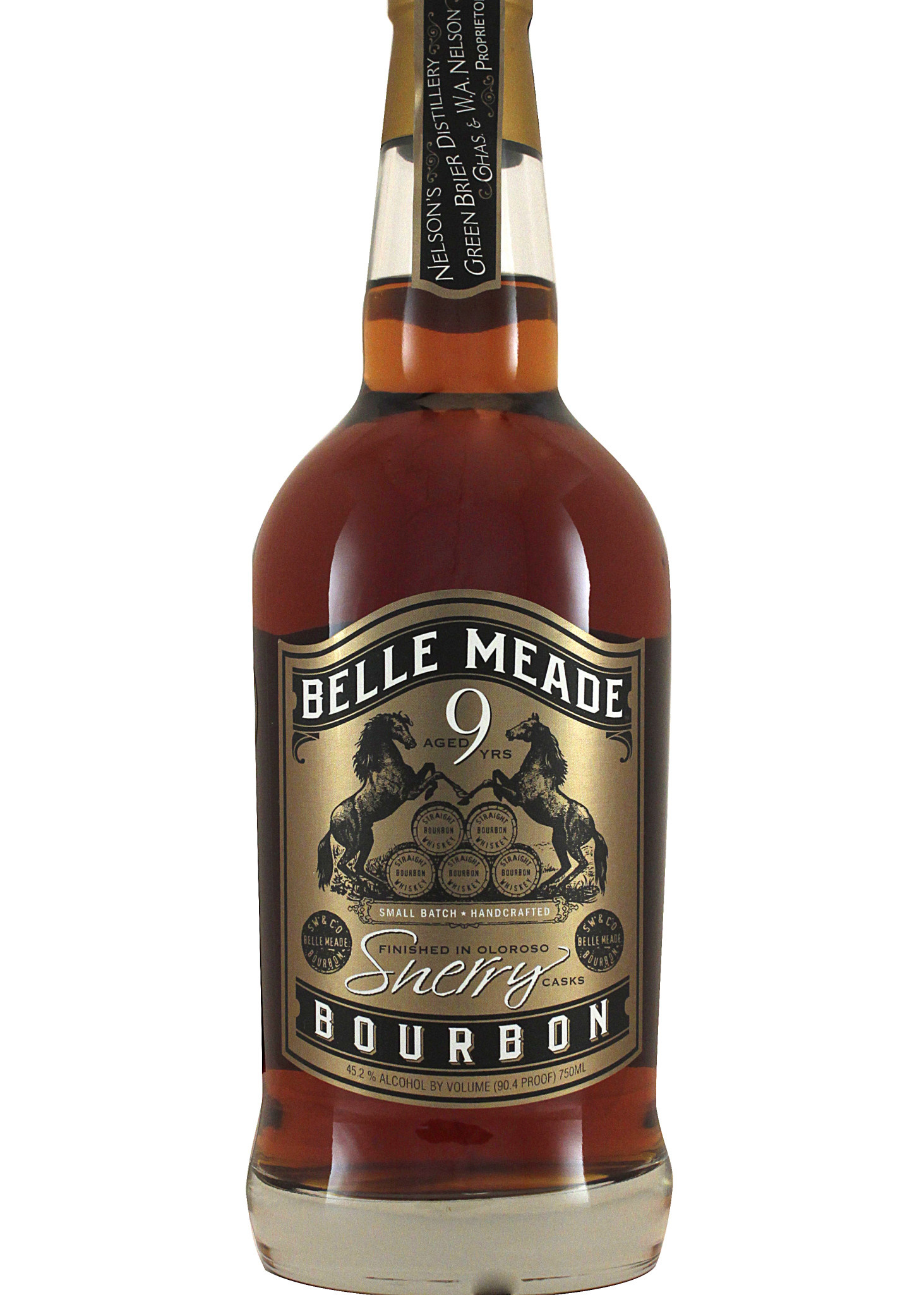 Belle Meade Sherry Bourbon 9 Year Aged,  Nashville, Tennessee